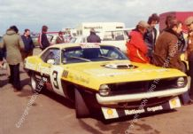 Chrysler Barracuda Tony Lanfranchi BTCC Silverstone 1974
